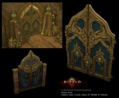 I was responsible for hand-painting textures and modeling modular architecture, terrain, and props. Prop Design, Game Design, Egypt Concept Art, Casual Art, Background Tile, Environment Concept Art, Game Environment, Hand Painted Textures, Game Props