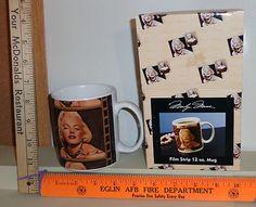 2005 Marilyn Monroe Film Strip 12 Ounce Coffee Cup Mug