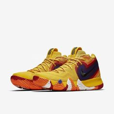4a6fe8a7cdef Nike Kyrie 4 EP 70s Uncle Drew Decades Pack Yellow Basketball Shoes  Nike   BasketballShoes
