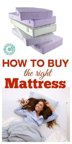 This is an awesome guide full of info on how to buy the right mattress- and you'll be surprised to learn it's not just the most expensive picks!