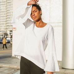 Boho Chic   einfach nähen lernen mit einfach nähen Ibiza Stil, Boho Stil, Bell Sleeves, Bell Sleeve Top, Bohemian Mode, Neue Trends, Boho Fashion, Chic, Silhouette