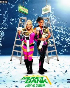 Money Bank, Money In The Bank, Tamina Snuka, First Bank, Wwe Pay Per View, Baby G, Christmas Sweaters, Wrestling, Cute