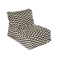 Chevron Beanbag--diff material but Idea for reading chair in Jack's room