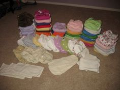 A cloth diaper wash routine that works!