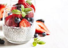Prepara esta delicia una noche antes, será el desayuno e incluso el postre perfecto. Nutritivo, delicioso, bajo en azúcar e ideal para personas diabéticas, veganas y vegetarianas.