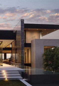 Fantastic Luxury Modern House Design Ideas For Live Better - Home Design & Decor - Modern Architecture House, Modern House Design, Interior Architecture, Modern House Facades, Classical Architecture, Interior Modern, Ancient Architecture, Sustainable Architecture, Residential Architecture