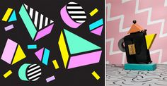 Friday next blog   Trend #memphismakeover #Memphis #colourful #design #upcoming #eighties #style #interior #patterns #colour