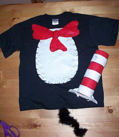 Easy Dr. Seuss Costumes need to remember these for next year