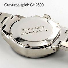 Fossil Uhr CH2600 Decker mit Gravur