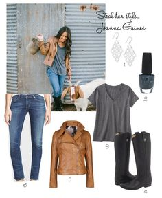COTTAGE AND VINE: Steal Her Style | How to Dress Like Joanna Gaines.