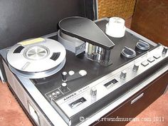 The Ampex VR 5003.  My high school also had a couple of these one-inch machines.  Also black and white, no editing possible.
