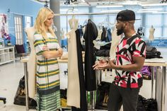 (L to R) Zanna Roberts Rassi and Ken Laurence, from Project Runway Season 12 star in Project Runway All Stars season 5, airing Thursday, May 5, at 9pm ET/PT on Lifetime. Photo by Pawel Kaminski Copyright 2016