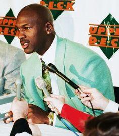 NBA Great Michael Jordan