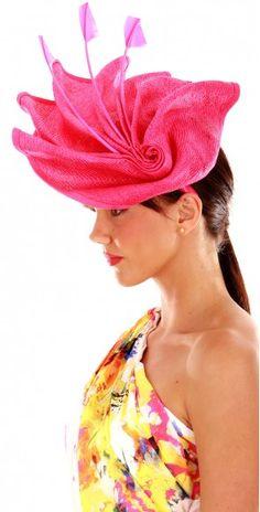 More Pink Melbourne Cup Fashion, Fascinator, Band, Headdress, Sash, Headpiece, Bands