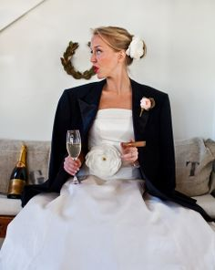 what fun bridal fashion!  -KWA