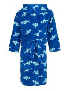 Kinderbadjas met haaien
