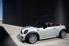 The MINI Roadster - two seats, no waiting - my next car :-)