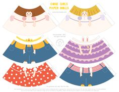 More cone girl Printables