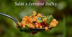 salát, červená čočka, salát z červené čočky Salad Recipes, Salsa, Vegetables, Ethnic Recipes, Food, Dressing, Essen, Vegetable Recipes, Salsa Music