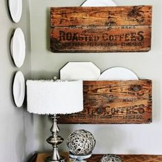DIY Salvaged Junk Projects 405 Rustic Christmas, Christmas Ideas, Christmas Decorations, Twine Wreath, Cute Clock, Stamped Spoons, Dollar Tree Decor, Wood Tags, Spring Tree