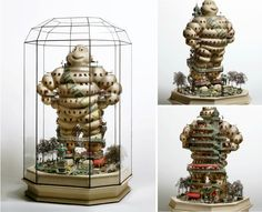 "TAKANORI AIBA: Sculpture  ""Hôtel de Michelin"""