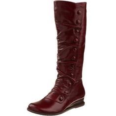 I bought these boots last year and CONSTANTLY get compliments on them. They are my absolute favorite shoe purchase of all time. Amazon.com: Miz Mooz Women's Bloom Knee-High Boot: Shoes