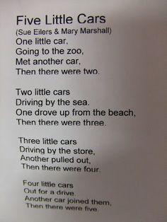 cars poem