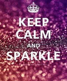 Keep calm and sparkle - Bijoux shopping