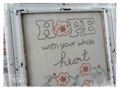 Hope and Miracles...pattern by Jenny of Elefantz