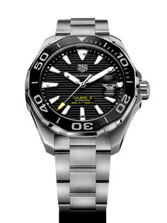 The ultimate reference in luxury chronograph watches, TAG Heuer's high-precision timing innovations have kept pace with the evolution of sports since Swiss Luxury Watches, Luxury Watches For Men, Elegant Watches, Beautiful Watches, Expensive Watches, Online Watch Store, Seiko Watches, Tag Watches, Watches Online