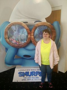 Ruby at smurf movie Love My Family, My Love, Smurf Village, Down Syndrome, A Whole New World, Gods Love, Smurfs, Movies, My Boo