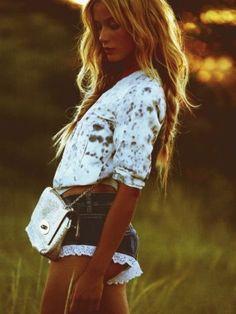 blonde, bohemian, boho, fashion,