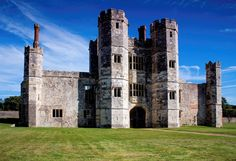 Titchfield Abbey (Hampshire, England, founded in Welsh Country, Hall House, Hampshire England, English Manor Houses, Tower House, Barcelona Cathedral, Castles, Country Houses, Mansions