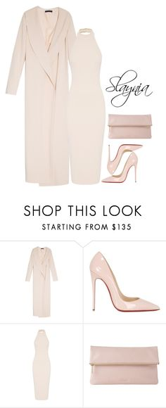 """""""Untitled #633"""" by slaynia ❤ liked on Polyvore featuring moda, The Row, Christian Louboutin y Whistles"""