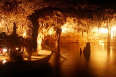Caves of Drach  Majorca.  Beautiful : place where I get proposed to!!