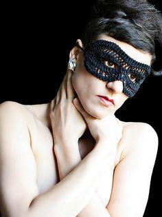 stitchdiva's classic knit mask