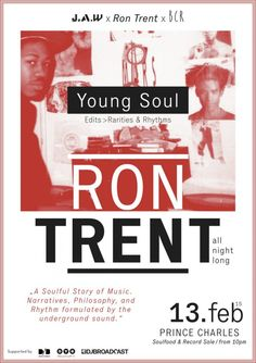 Tonight we have a very special event starring #RonTrent (8 hours DJ set) @ #PrinceCharles, Berlin!!!  Pre-sales availables on Resident Advisor and at the Bass Cadet Recordstore in Berlin,  http://basscadetrecords.com/  http://www.residentadvisor.net/event.aspx?675441  I you are interested in booking Ron Trent please get in touch with: DEEJAYBOOKING.COM