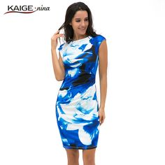 Cheap 9021, Buy Directly from China Suppliers:New Printed  Bodycon Dress Women Summer Dresses Kaige.Nina Brand Plus Size Women Clothing Sexy Dresses 9021