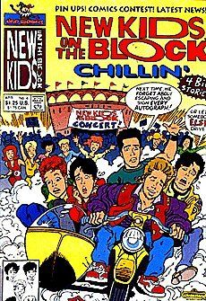New Kids On The Block Chillin' (1990 series) #4 by Harvey Comics