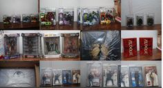 McFarlane Huge lot of Action Figures Spawn Matrix Metal Gear Movie Maniacs