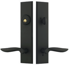 Good Rockwell Verano Entrance Door Handleset With Dahli Lever In Oil Rubbed  Bronze Finish