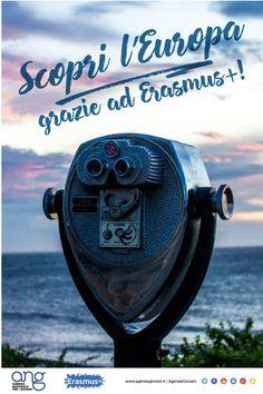 Inizia l'anno alla scoperta dell'Europa! Grazie ad Erasmus+