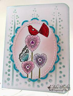 Chocolate Baroque Design Team: Colourful Hearts (by Asha)