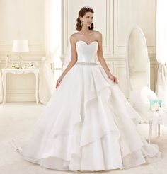 Vestiti da sposa principessa 2015