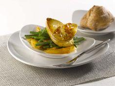 Escalopes de foie gras de canard des Landes et mangue à la plancha