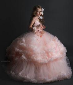 ALALOSHA: VOGUE ENFANTS: Special Ocassion Dresses from Anna Triant Couture