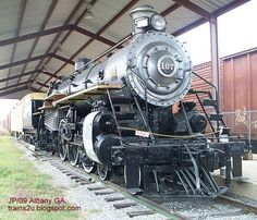 Railroad Train steam engine,   built 1911