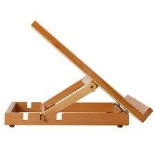 Resultado de imagen para atriles de madera para pintar