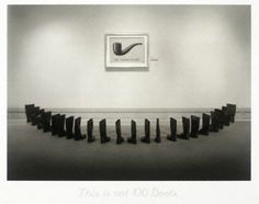 100 Boots by Eleanor Antin