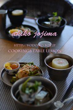 日常の御飯 サバ寿司 かき揚げ ふろふき大根 ビネガー金柑 山葵菜のお浸しなど